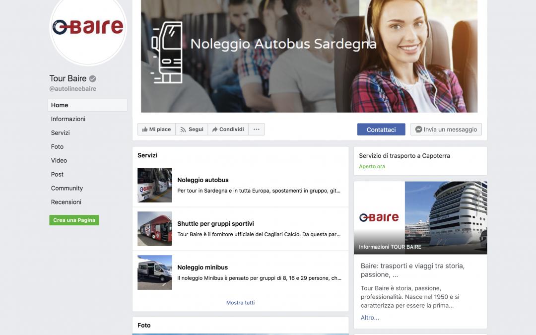 Tour Baire sbarca su Facebook